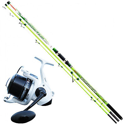 KP3943 Surfcasting Fishing Kit Rod Kronos Surf Master 420 + Hummer Reel • 106.25£