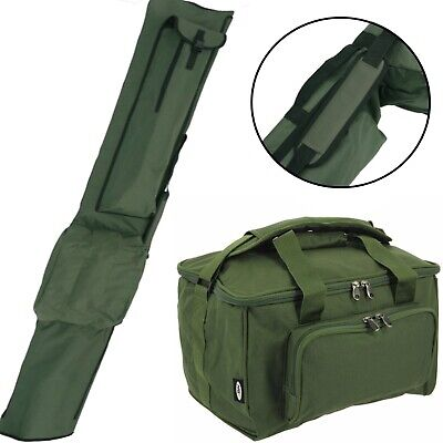 Rod Holdall And Tackle Bag Carryall Holdall Luggage Set NGT Quickfish • 31.41£