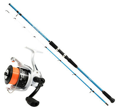 KP4451 Alentino Quiver Fishing Rod Fishing Kit Evo Supreme 5500 Reel • 50.92£