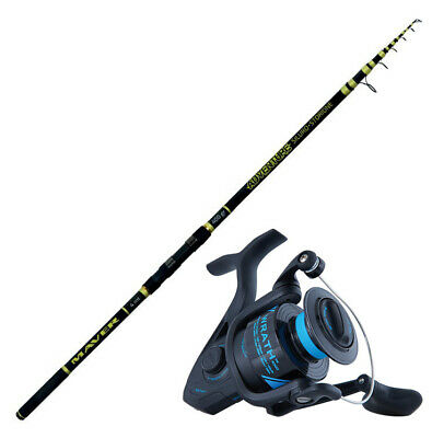 KP4457 Sturgeon Fishing Kit Adventure Rod 4 M 400 Gr Wrath 5000 Reel • 89.25£