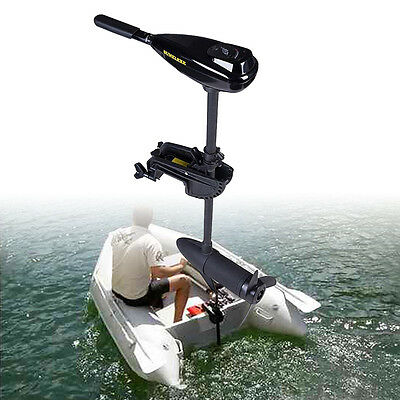 58LBS Outboard Engine Boat Trilling Motor Electric Saltwater Freshwater Dinghy • 150£