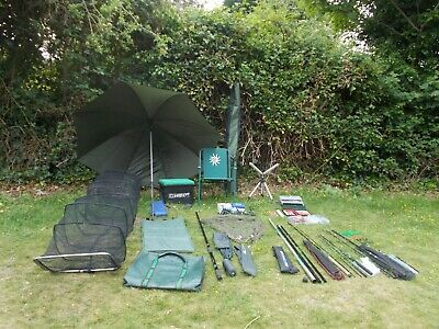Small Coarse Pleasure Fishing Set Up Job Lot Rods Reels Tackle Pole Etc • 155£