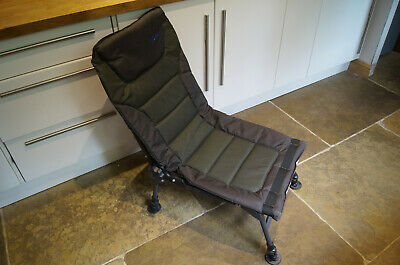 Bison Recliner Chair Carp Set Up Fishing Reclining  Chair Camping  • 26£