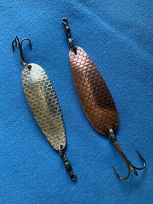 Two Rare Vintage ABU Sweden 15g Salar  Collectable Or Trout Pike Lures • 9.99£