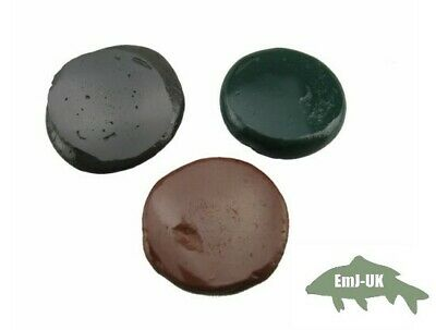 Tungsten Rig Putty 20g Green Brown Black Carp Fishing Terminal Tackle Sinkers • 4.69£