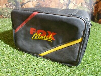 Fox Match Double Reel Case Used Fishing Tackle FISHING SET UP • 17.99£
