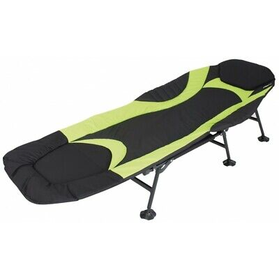 Eurotrail Folding Adjustable Camping Fishing Bed Stretcher Soft Padded Upper • 79.99£