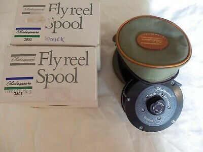 Shakespeare Speedex Reel With Zip Pouch & Two Boxed Unused Spools A1 England • 59.99£