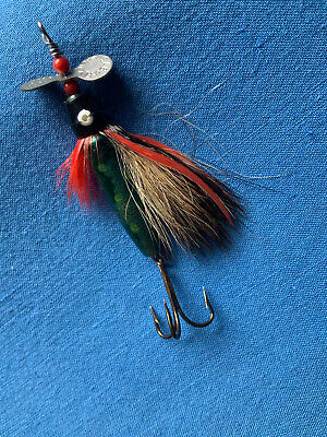RARE VINTAGE 10g ABU - FLY MADE IN SWEDEN SALMON SEA-TROUT LURE • 10£