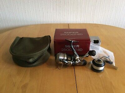 Shimano Super Gt-rd 2500 Reel + Line + Pouch.  • 40£