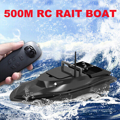 RC Fishing Bait Boat W/ 2 Motors Fish Finder 500M Wireless Single Hand Control G • 109.99£