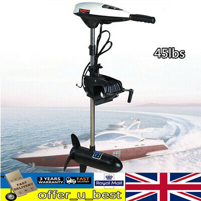 45lbs Boat Thruster Outboard Motor Outboard Engine Fishing Trolling • 128£