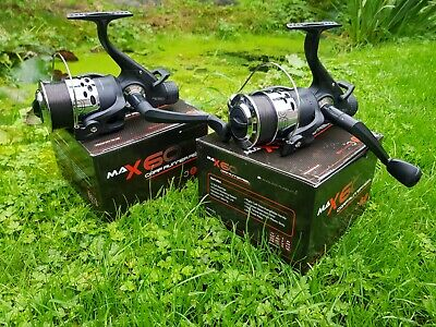 2 X Ngt Angling Pursuits Max 60 2 Bb Carp Fishing Reels Loaded 10lb Line Tackle • 29.99£
