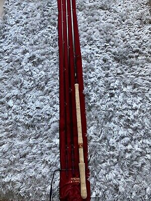 The Walker Salmon Fly Fishing Rod 16` 6  #10-11 Made By Bruce Walker England  • 100£