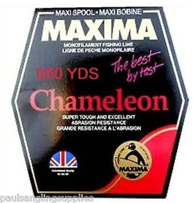 Maxima Maxi  660 Yds Fishing Bulk Line For Coarse Rod & Reel  • 18.13£
