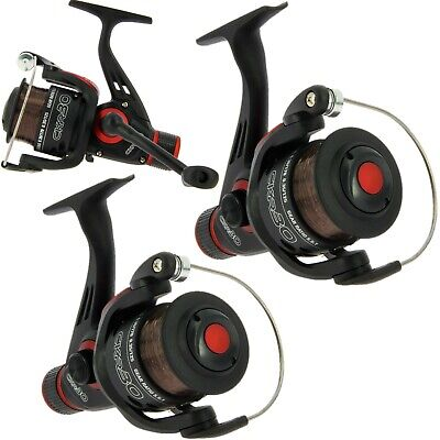 2 X NGT CKR30 Coarse / Float / Spinning Fishing Reels With 8lb Line  • 18.95£