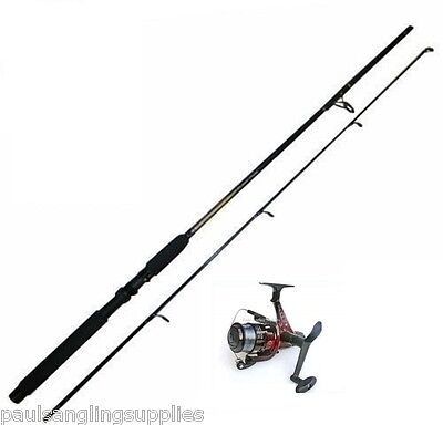 6 Ft  Spin Spinning Fishing Rod & Sol Reel With Line • 32.15£