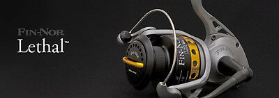 Fin Nor LETHAL Fixed Spool Fishing Reel - All Sizes • 89.99£