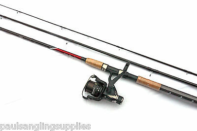 Shakespeare 11ft Omni Float / Match  Fishing Rod + Beta Rear Drag Reel With Line • 41.97£