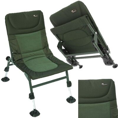 NEW NGT Nomadic Chair With Adjustable Large Mud Feet Carp Fishing Tackle  • 49.95£