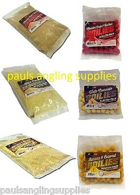 Session Twin  Pack Of Carp Fishing Boilies & Groundbait Bait  • 12.29£