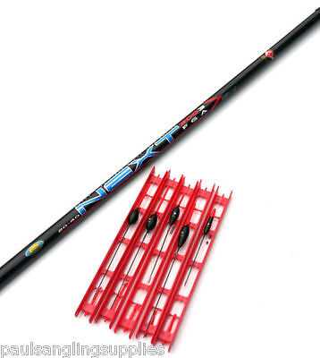 Lineaeffe 4 M Telescopic Fishing Pole & 5 Assorted Ready Made Pole Rigs • 19.01£