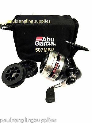 New Model Boxed ABU GARCIA * 507   * Closed Face Fishing Reel    • 73.63£