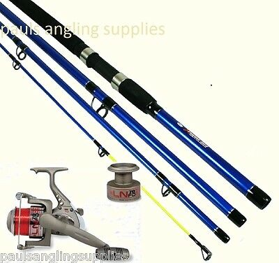 NGT  Sea Fishing 4pc Travel Rod & Reel Option With Line • 43.14£