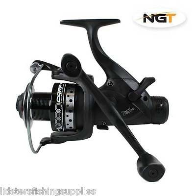 1 X DYNAMIC 6000 CARP DELUXE FISHING FREE RUNNER REEL 10BB WITH SPARE SPOOL • 28.36£
