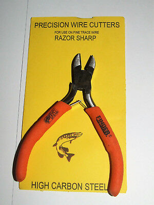 Precision Wire Cutters - Trace Wire - Pike Predator Sea Fishing • 6£