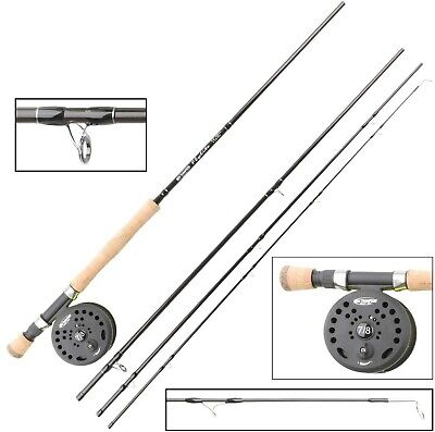 Ron Thompson FlyLite Combo Rod 4pc 9ft #6/7 WF7F Or 9ft6  #7/8 WF8F Fly Fishing • 64.99£