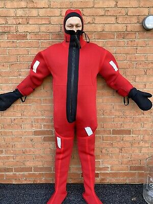 OSS Survival Immersion Suit - Neoprene Size Large - Unused • 100£