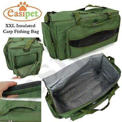 XXL Carp Coarse Fishing Tackle Bag Insulated Carryall Holdall Padded Easipet  • 22.99£