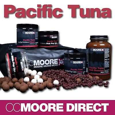 Cc Moore Pacific Tuna Boilies, Pop Ups, Wafters, Pellets, Bag Mix, Booster Range • 13.50£