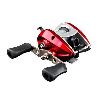Bearings Waterproof Right Hand Baitcasting Spinning Fishing Reel With Line • 9.47£