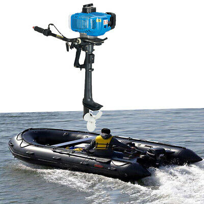 Outboard Motor 2 Stroke 3.5HP  Fishing Boat Engine With Air Cooling CDI Anqidi • 217£