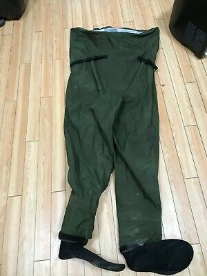 USED ONCE Breathable Greys G Series Chest Waders STOCKING FOOT Size XXL Fishing  • 26£