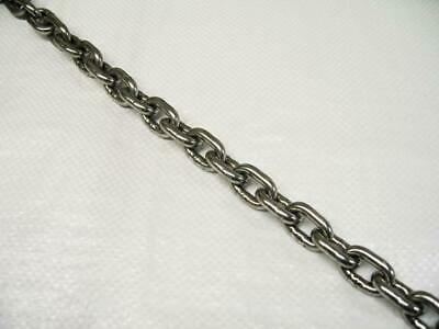 6MM Short Link Chain Stainless Steel DIN766 (Anchor 316 Grade) • 9.95£