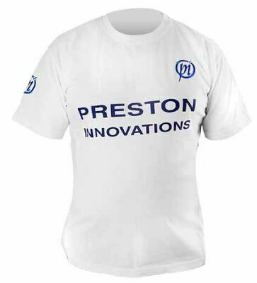 Preston Innovations T-shirt  White 100% COTTON SMART QUALITY • 14.30£