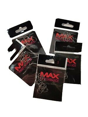 * Deal 25% Extra | Fishing Maggot Clips X 50 | Max Performance |  5 Packs For 4 • 9.99£