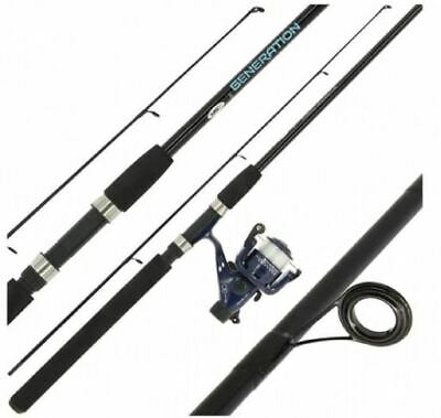 Generation 7 Foot Rod & Reel Combo Complete With 6lb Line | Travel | Starter • 27.95£