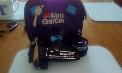 Abu Cardinal-155-vintage Spinning Reel In Very Good Condition... • 65£
