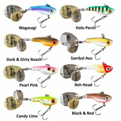 Berkley NEW Pulse Spintail Fishing Lure - Pike Perch - Various Colours / Sizes  • 5.29£