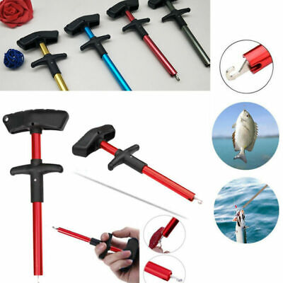 Easy Fish Hook Remover Disgorger Detacher T Bar Fishing Tackle Tool Portable • 3.59£