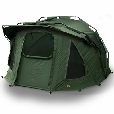 NGT Fortress 2 Man Shelter Bivvy System With Hood - Green Fishing  • 149.99£