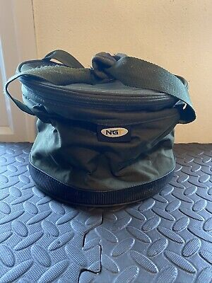 NGT Collapsible Bait Bin With Zipper • 7.95£