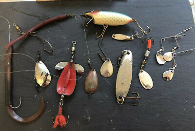 Vintage Fishing Lures Spoons • 6£