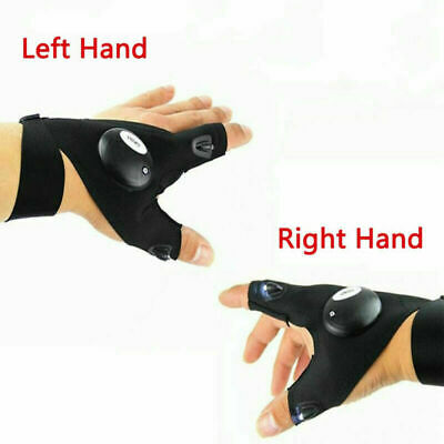LED Gloves With Waterproof Lights & UK • 5.89£