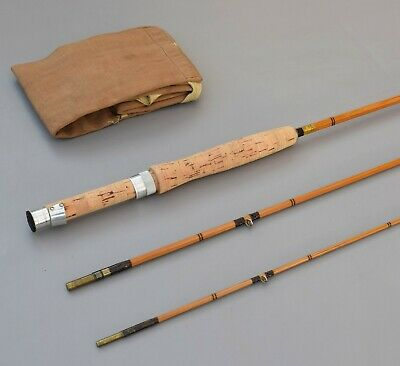 C B Vaughan     8' -0           Split  Cane  Fly   Rod • 79.99£